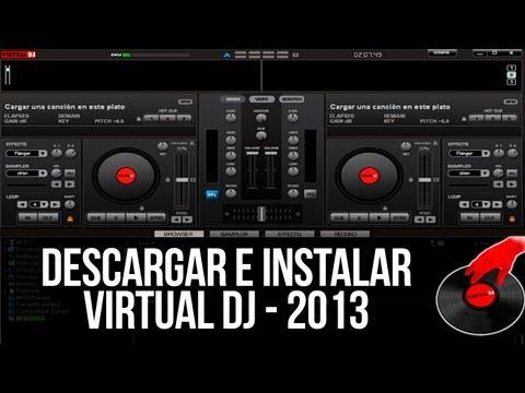 Descargar e instalar el virtual DJ ultima version - 2013