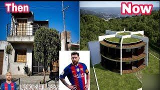শীর্ষ ফুটবলারের বাড়ীর আগে এবং বর্তমান অবস্থা | Top 10 Footballer's House Then & Now | Messi, Neymer