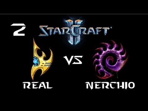StarCraft 2 - TypeReal [P] vs Nerchio [Z] G2 (Commentary)