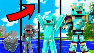 NẾU KHỐI KIM CƯƠNG  CÓ CUỘC SỐNG TRONG MINECRAFT !!! (Minecraft Người Trông Trẻ)