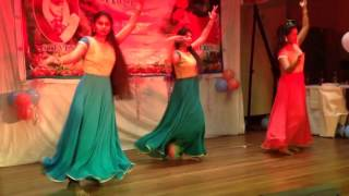Taal and Aja Nachle remix- Bollywood fusion dance by Jenny, Merin, Nisma
