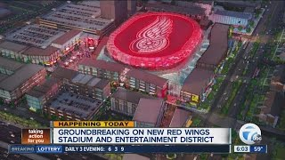 Topping Out The Little Caesars Arena
