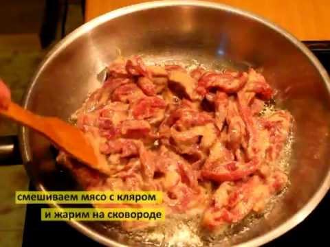 Мясо по китайски в кисло-сладком соусе