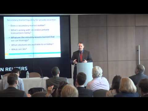 Crowdnetic's Crowdfinance 2014, Blaine McLaughlin: Secondary Markets and Liquidity Issues