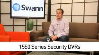 1550 Series Security DVRs