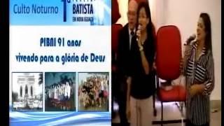 PIBNI - Culto Vespertino - Louvores e Mensagem 02/03/2014