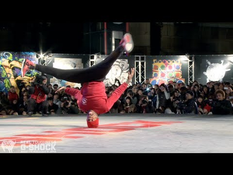 PradaG & Smurf vs Stripes & Tata G-SHOCK REAL TOUGHNESS Japan 2012 | YAK FILMS Music Videos