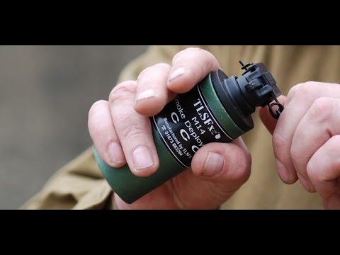 AIRSOFT SMOKE GRENADE - TLSFx 3rd Generation Pyrotechnics