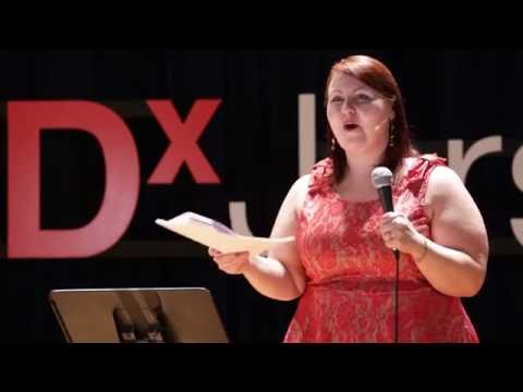Stripping away negative body image | Lillian Bustle | TEDxJerseyCity