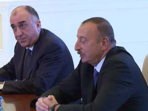 С.Лавров и И.Алиев | Sergey Lavrov and Ilham Aliyev