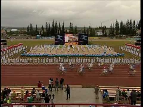 5 Спортивные игры народов Якутии.Часть 1(Олекминск, 2010)