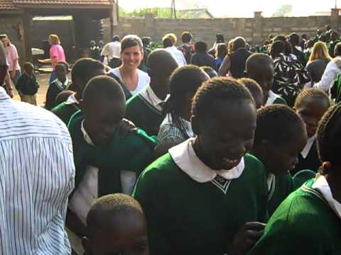 A Huge Celebration breaks out at World Hope Academy