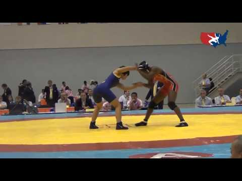 2012 Junior Worlds - FW 44kg - Erin Golston (USA) vs. Liqiong Xie (CHN)