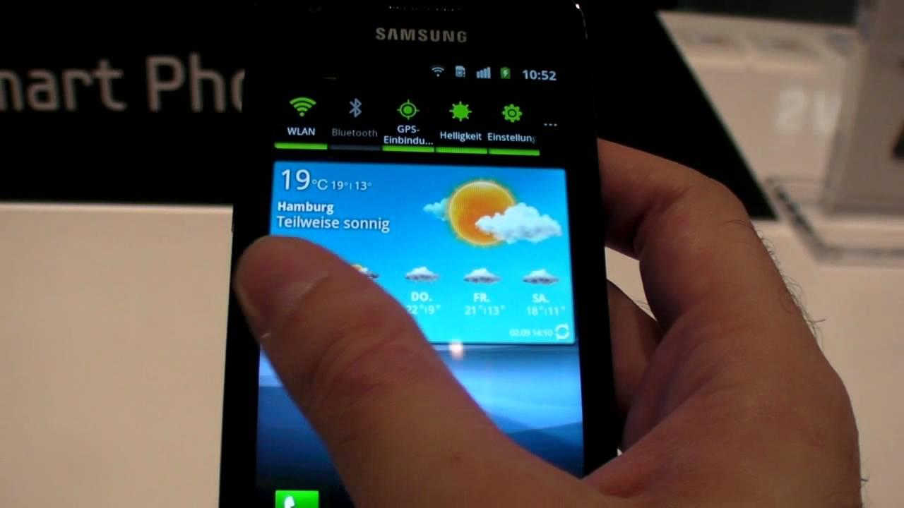 Probando el Samsung Galaxy R