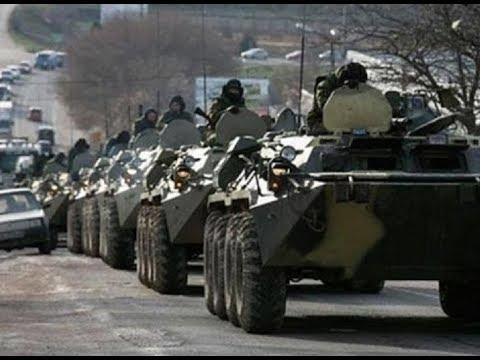 Срочно! В Луганск вошла большая колонна военной техники с пехотой 21.11.2017