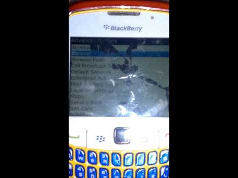 How To Fix The Blackberry Curve 8520 Browser..