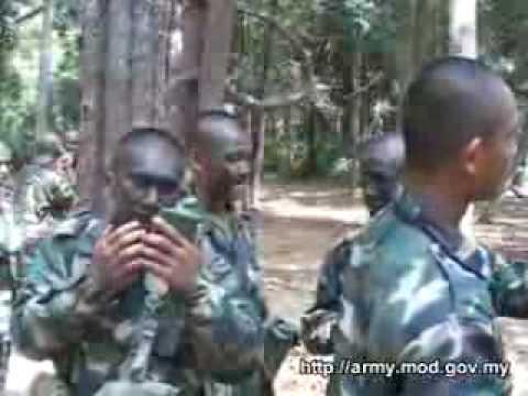 Rekrut tentera darat malaysia.flv