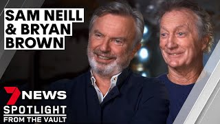 Bryan Brown & Sam Neill | Stars open up about acting, friendship and growing old | Sunday Night