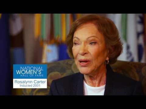 Rosalynn Carter- National Women's Conference