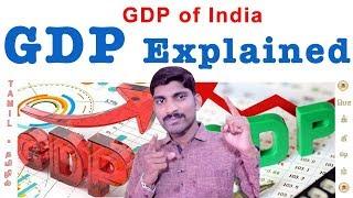 GDP - Part 1 | How GDP of India calculated | Tamil | ஜி.டி.பி என்றால் என்ன| Pokkisham | Vicky | TP