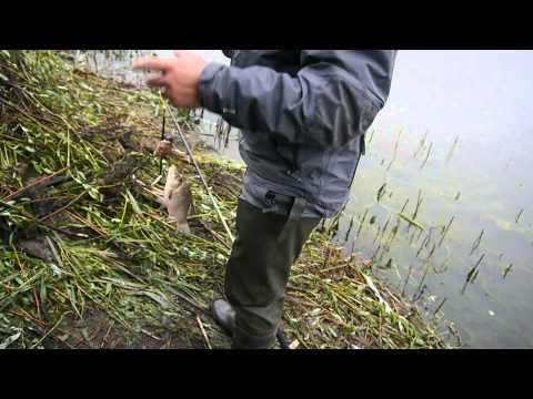 ловля осетра на пенопласт