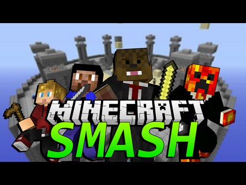 Minecraft SMASH (Super smash Brothers) w/ the Pack