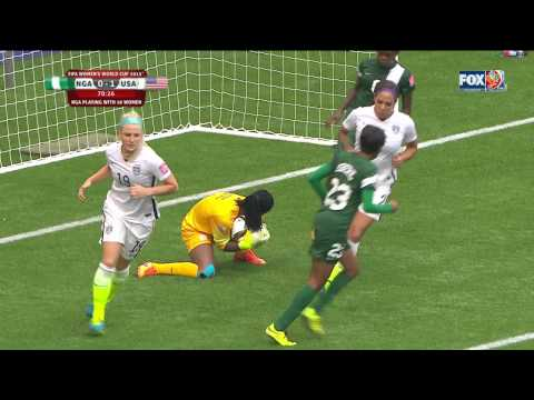 USWNT Nigeria 2015 Women's World Cup Second Half Full Game USA FOX SPORTS