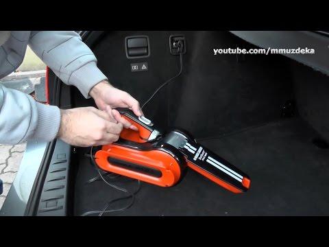 Black & Decker 12V PAV1205 Pivot Auto Vacuum cleaner / Auto-Handsauger