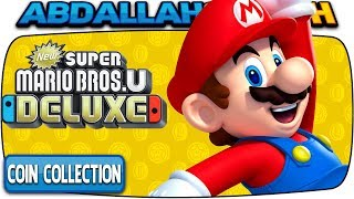 ALL COIN COLLECTION CHALLENGES 🏆 | New Super Mario Bros U Deluxe (Nintendo Switch)