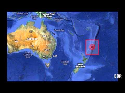 6.1 EARTHQUAKE - KERMADEC ISLANDS, NEW ZEALAND 02/18/13
