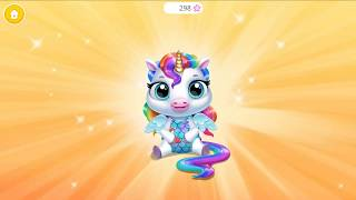 My Baby Unicorn -  Just Born!  Cute Rainbow Pet Care & Dress Up #1