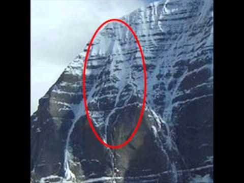 Lord Shiva Face On Kailash (must See) video