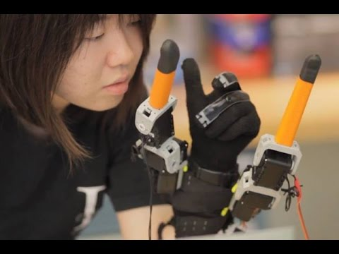 This wearable Robot will give 2 extra fingers to our Hand.