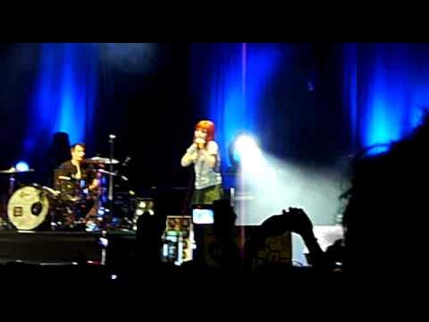 Careful - Paramore Concert Live In Kuala Lumpur, Malaysia 2010 video
