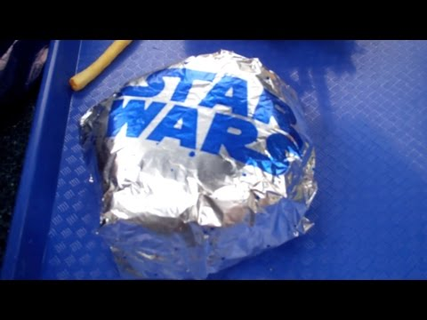 Mealtime at Disneyland- Galactic Grill (Cheese-3PO Burger)