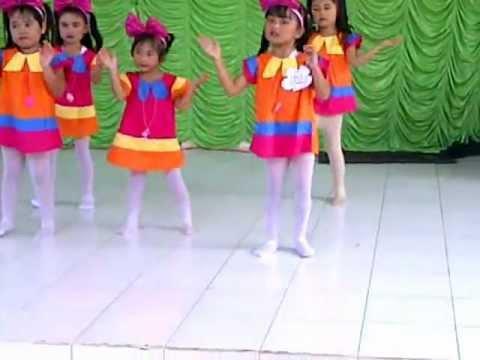 Tari Kreasi  Odong-odong  Tk paud Empat Putri Talang Keramat Kenten Banyuasin Sumsel video