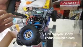 Đập hộp và test xe đua điều khiển Desert Buggy tỉ lệ 1.10