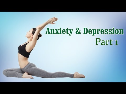 Yoga For Anxiety & Depression | Therapy, Exercise, Workout | Part 1
