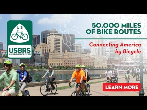 U.S. Bicycle Route System: America's Official Bike Route Network