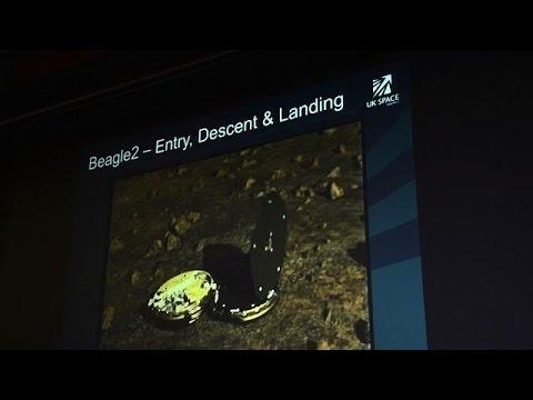 المركبة بيغل 2 على سطح المريخ