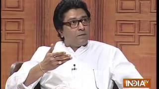 Raj Thackeray in Aap Ki Adalat  (Part 1) - India TV