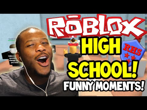 ROBLOX: HIGH SCHOOL! - MY FIRST DAY! - Part (1)
