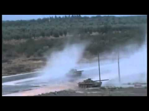 Syrian Army Tank DESTROYED By Rebel Fighters In Ambush