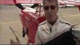 Sean Tucker Offers Tour Of Stunt Plane