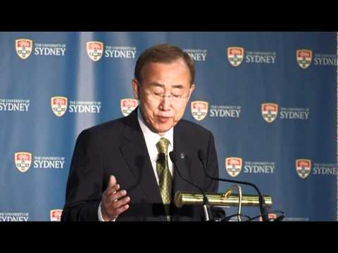 Ban Ki-moon on Sustainable Development
