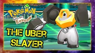 Pokemon Lets Go Pikachu and Eevee Singles Wifi Battle - THE UBER SLAYER