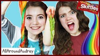 Edible Slime vs Real Slime Challenge / AllAroundAudrey