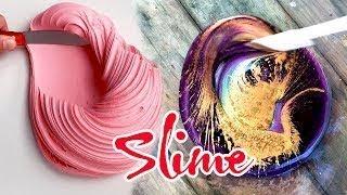 Chơi Slime 04 CHƠI THỬ SLIME Cùng Thử Thách Slime Cực Nhiều Màu Sắc Slime Phát Sáng
