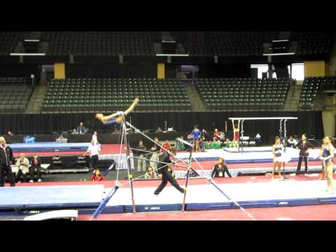 Katelyn Ohashi - 2012 Kellogg&#039;s Pacific Rim Championships Podium Training - Uneven Bars