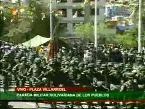 Bicentenario de La Paz 16 Jul 1809-2009 parte 2